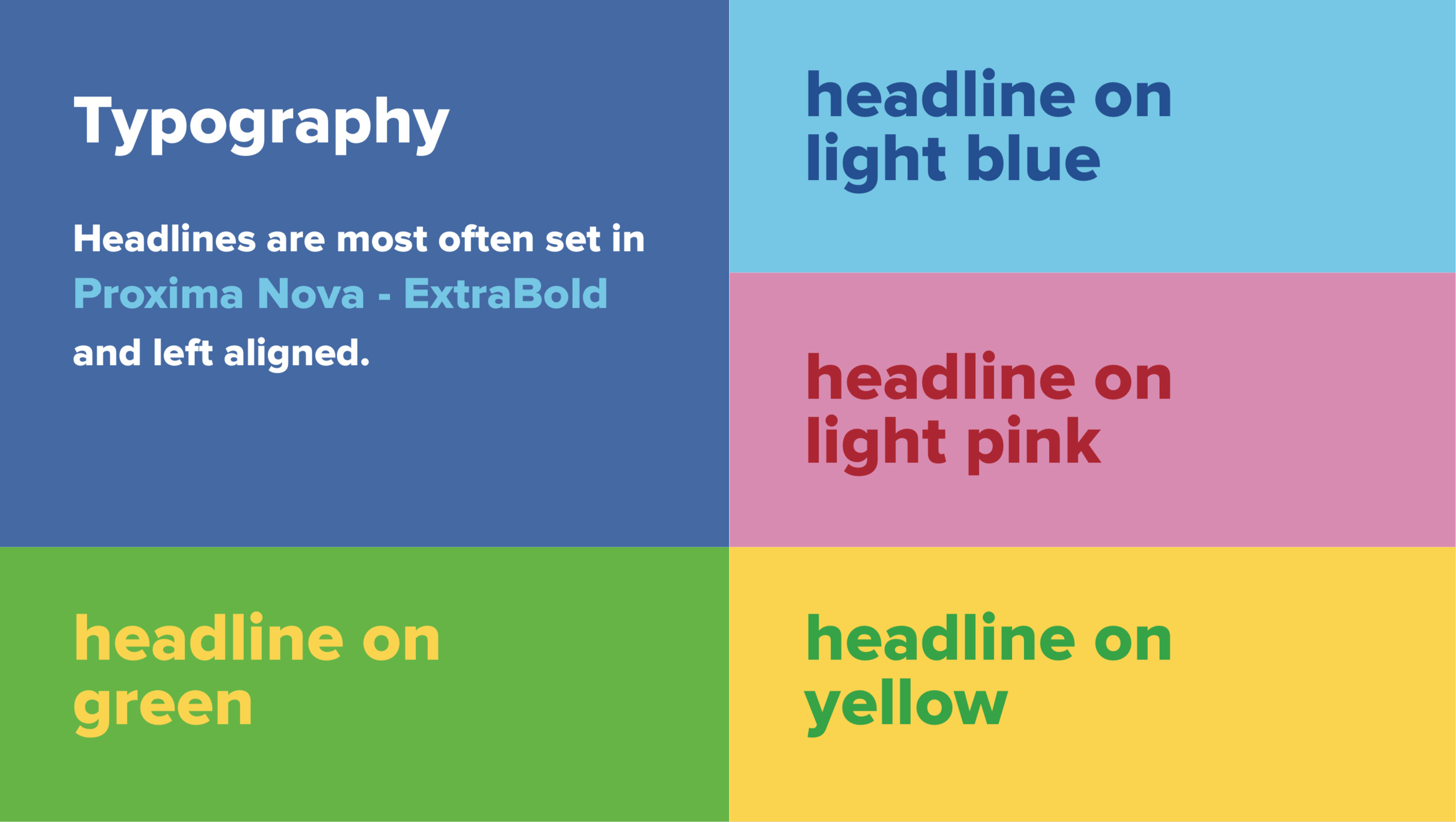 ShareThis Guidelines Typography